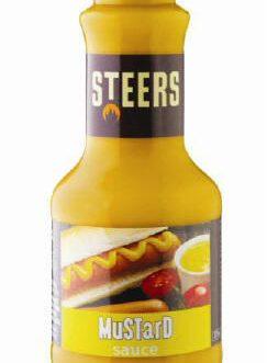 Steers Sauces – Mustard