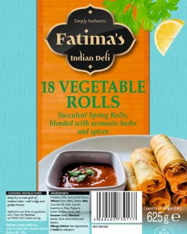 Fatima's Indian Deli Veg Rolls 18s