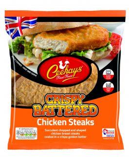 Ceekay's Battered Chicken Steaks (HMC)