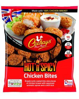 Ceekays Hot & Spicy Mini Chicken Bites 500g