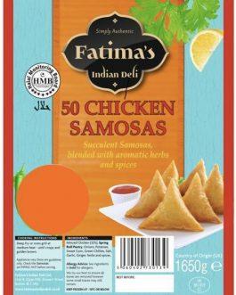 Fatima's Indian Deli Chicken Samosas 50s