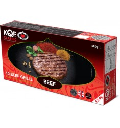 KQF Classic Beef Grills 10pk