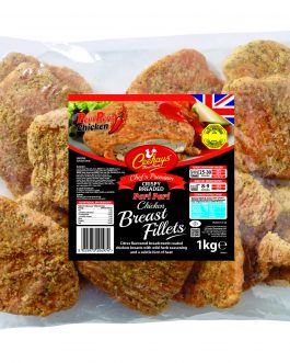Ceekay's Peri peri Chicken Breast Fillets (HMC)