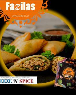 Fazilas Premium Range Samosas 18S – Chicken