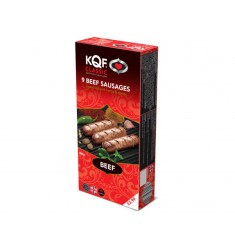 KQF Classic Beef sausages 9pk