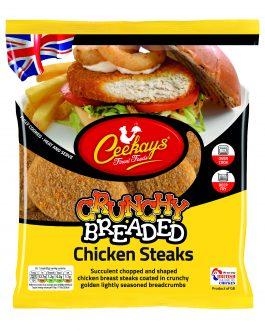 Ceekay's Breaded Chicken Steaks 700g