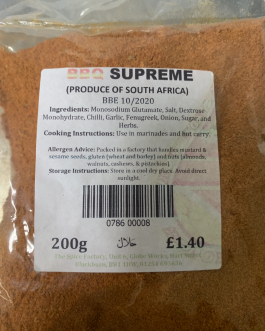 BBQ Supreme