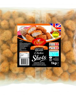 Ceekays Breaded Chicken Shots 960g