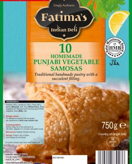 Fatimas Punjabi Veg Samosa
