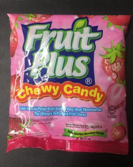 Fruit Plus Chewy Candy Strawberry (Malaysian)