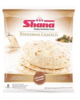 Shana Wholemeal Chappati 8pcs