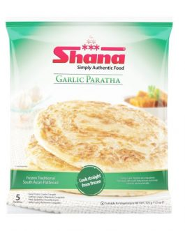 Shana Garlic Paratha 5pc 400g