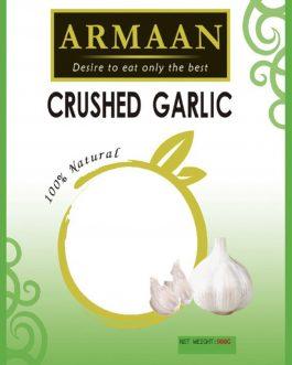 Armaan Crushed Garlic Cubes 400g