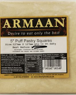"""Armaan 5"""" Square Puff Pastry"""