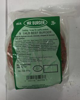 8 1/4LB Bugers – Beef
