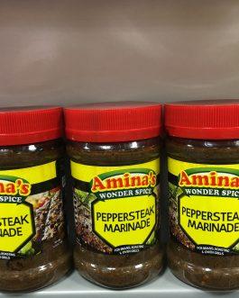 Aminas Wonder Spice – Peppersteak Marinade Paste