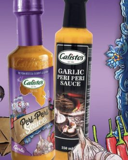 Calisto's Garlic Peri Peri Sauce 250ml