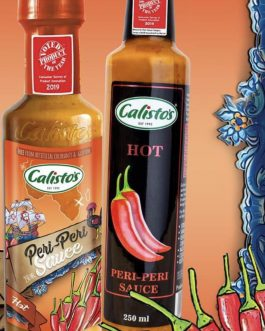 Calisto's Hot Peri Peri Sauce 250ml