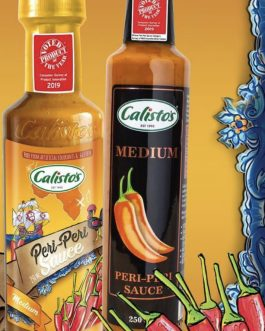 Calisto's Medium Peri Peri Sauce 250ml