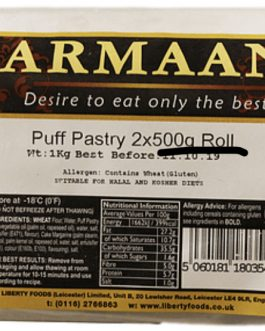 Armaan Puff Pastry Roll 1kg