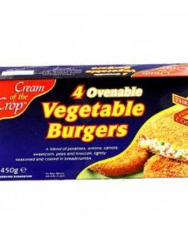 Cream Of The Crop Vegetable Burgers 4 Pack