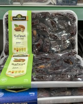 Kings Madina Safawi Almond Dates 450g