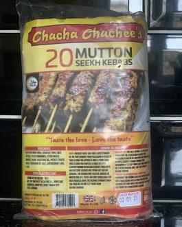 Chacha Chachee's Mutton Seekh Kebabs 20s