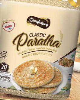 2 x Doughstory Classic Paratha 20pk offer