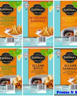 2 x Fatimas Samosas Offer see below