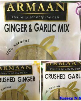 2 x Armaan Garlic, Ginger & mix Offer see below