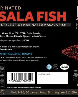 HQ Spicy Marinated Masala Fish