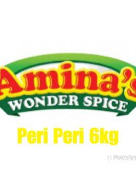 Aminas Wonder Spice Peri Peri Marinade 6kg