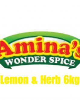 Aminas Wonder Spice Lemon & Herb Marinade 6kg