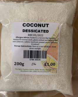 Spice factory Coconut Desiccated