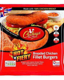 Ceekay's Hot & Fiery Fillet Burgers