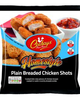 Ceekay's Plain Breaded Chicken Shots