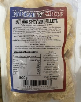 FnS Hot & Spicy Mini Fillets 800g